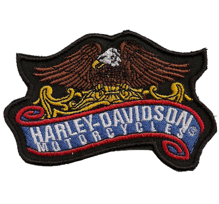 Harley Davidson Motorycylce Adler Eagle Vintage Retro Aufnäher Patch
