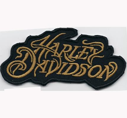 alter Harley Davidson Athena Vintage Retro Chopper Biker Aufnäher Patch