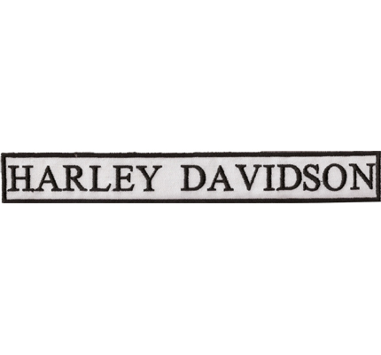 Harley Davidson Letters Vintage retro Patch HD Motorcycles XXL Aufnäher w