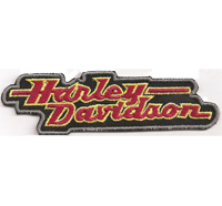 Harley Davidson Motorcycle 1944 Vintage Retro Patch Chopper Aufnäher Patch