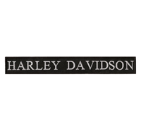 Harley Davidson Letters Vintage retro Patch HD Motorcycles XXL Aufnäher s