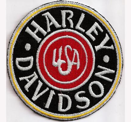 USA Harley Davidson classic Motorcycle Chopper Route66 Biker Aufnäher