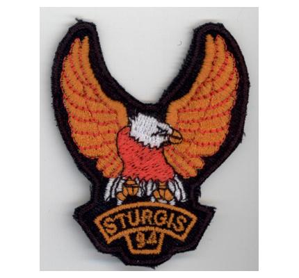 Harley Davidson Sturgis '94 Eagle Vintage retro Motorcycles Patch Aufnäher