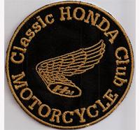 CLASSIC Honda Club Motorcycle Honda Patch Goldwing Biker Aufnäher Patch