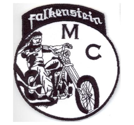 MC Falkenstein Rider Motorcycle Harley Davidson Biker Aufnäher Patch