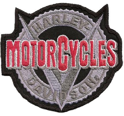 Harley Davidson V-rod MOTORCYCLES Biker Vintage Lederjacke Aufnäher Patch