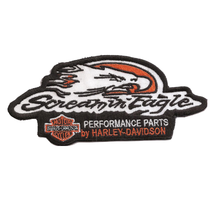 Harley Davidson Sreaming Eagle Performance Parts Motorcycles Aufnäher