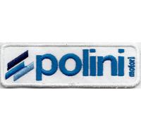 POLINI VESPA Classic Piaggio Club Retro Tuning Vintage Aufnäher WH