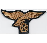 German Deutsche Wehrmacht Reichsadler Iron Cross Aufnäher Abzeichen go
