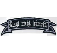 Klagt nicht, kämpft Thors Hammer Odins Krieger Wikinger Aufnäher Patch