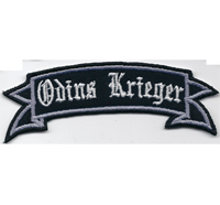 Odins Krieger Thors Hammer Germania Wikinger Nordwelt Aufnäher