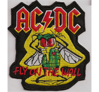 ACDC, AC/DC, Fly on the wall, Heavy, Metal, CD, DVD, Aufnäher, Abzeichen