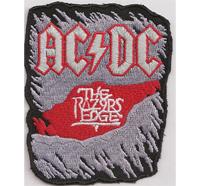 ACDC AC/DC Razors Edge Heavy Metal Album CD DVD Aufnäher Abzeichen Patch