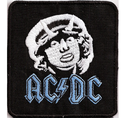 AC DC ColdPatch ACDC AC/DC Let it be Rock Heavy Metal Aufnäher Patch