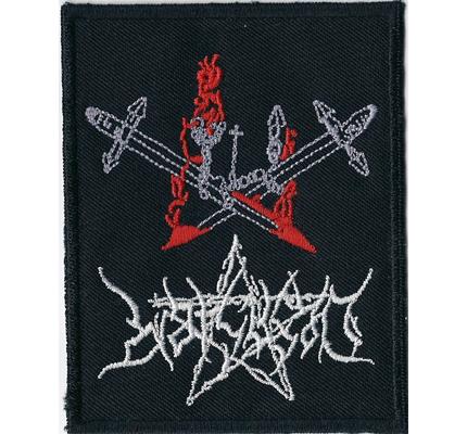 DESASTER Swords Black Thrash Metal Teutonic steel Album Aufnäher