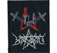 DESASTER Swords Black Thrash Metal Teutonic steel Album Aufnäher