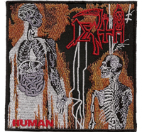 Death Human Death Metal Album Cover CD Backpatch Tshirt Aufnäher Patch