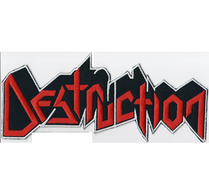 Destruction Backpatch XXXL Death Thrash Metal Album Aufnäher Backpatch
