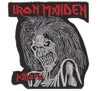 Iron Maiden Killers Heavy Black Death Thrash Backpatch Metal Aufnäher