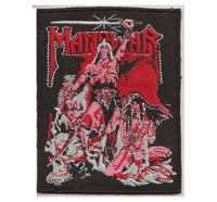MANOWAR Kings of Heavy Metal Warriors of the world Album Cover Patch
