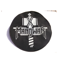 ManoWar Sign of the Hammer King of Metal Album Backpatch XXL Aufnäher