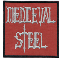 MediEval Steel 1984 Heavy Metal Sur Records Album Cover Aufnäher Patch