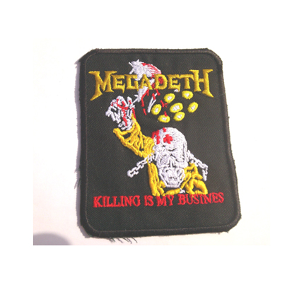 Megadeth Killing is my Business Death Metal Assasins Aufnäher Patch