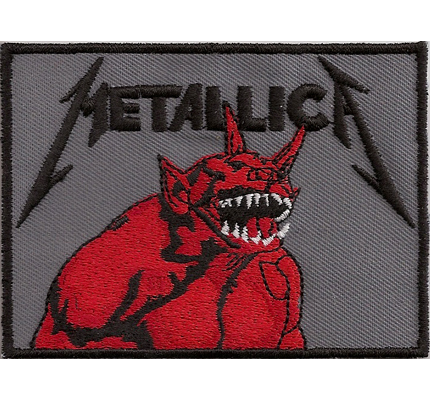 Metallica Jump in the fire Heavy Metal Kutte kill em all T-shirt Aufnäher Patch