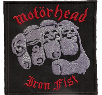 Motörhead Iron Fist british Heavy Metal Snaggletooth Album Patch Aufnäher
