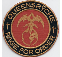 Queensryche Rage for Order operation mindcrime Heavy Metal Aufnäher