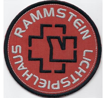 RAMMSTEIN Lichtspielhaus Engel AHOI CD Album T-shirt Patch Aufnäher
