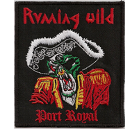 Running Wild Port Royal Germany Legend 80er Heavy Metal Aufnäher
