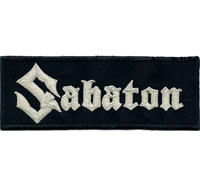 SABATON Aufnäher Black Death Thrash Metal DVD Album Patch Aufnäher