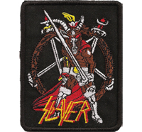 Slayer Exodus Kreator Wehrmacht Sodom Death Metal Album Aufnäher Patch