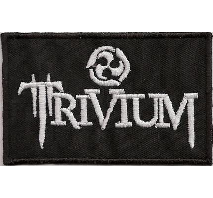 Trivium Thrash Metal Band Bulletpage Vintage Patch Heavy Metal Aufnäher