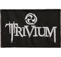 Trivium Thrash Metal Band Bulletpage Vintage Patch Heavy Metal Aufnäher