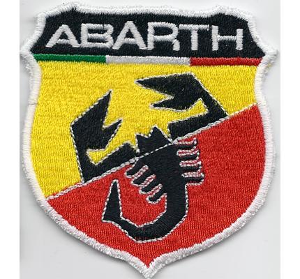 Abarth Fiat 500 695 tributo ferrari Motorsport Wappen Aufnäher Patch