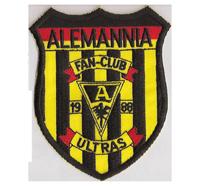 Alemannia Aachen Fanclub Ultras 1988 Trikot Fanclub Aufnäher Abzeichen