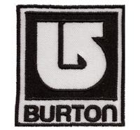 Burton Gear Snowboard Surfer Rucksack Zimtstern Patch Aufnäher Abzeichen