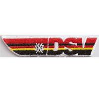DSV Skiteam Logo Brustpatch Deutscher Ski Verband Mütze Aufnäher Patch