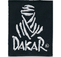 Dakar Logo Rally Senegal Racing Motorsport Speedweek Aufnäher Patch