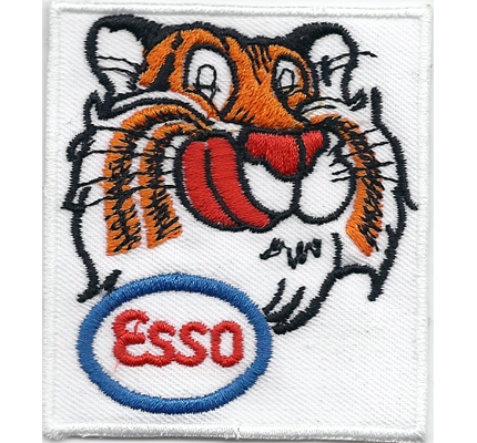 Esso Gasoline Motoröl Nescar Racing MotoGP Formel1 Motorsport Aufnäher