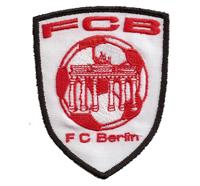 FCB - 1 FC Union Berlin Fussball Fanclub Trikot T-shirt Aufnäher Abzeichen