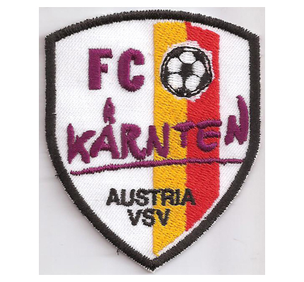 FC Kärnten Austria VSV Ultras Wappen Fanclub Trikot Aufnäher Patch