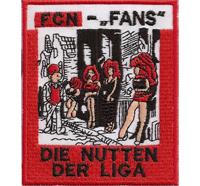 Anti FCN FC Nürnberg Die Nutten der Liga schlampe DFB Meister Aufnäher