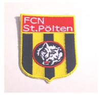Fussball Österreich FCN St. Pölten Fanclub Trikot Schal Aufnäher Patch