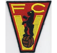 Fussball FC Vorwärts Berlin FCV Fanclub Trikot Aufnäher Abzeichen Patch