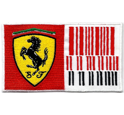 Ferrari Formel1 F1 Racing Rennsport Team Code Alonso Massa Aufnäher