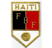 Fussball FHF Haiti Football Federation Haiti FC Fanclub Aufnäher Abzeichen