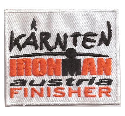 Ironman Finisher Kärtnen IRON MAN Austria Patch Abzeichen Aufnäher
